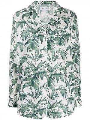 Пижама Byron с принтом Desmond & Dempsey. Цвет: зеленый