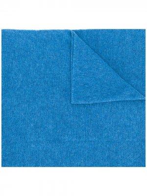 Кашемировый шарф Stola Liska. Цвет: синий