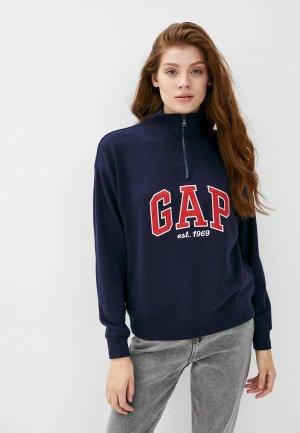 Олимпийка Gap. Цвет: синий