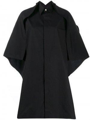Ys рубашка-кейп Y's. Цвет: черный
