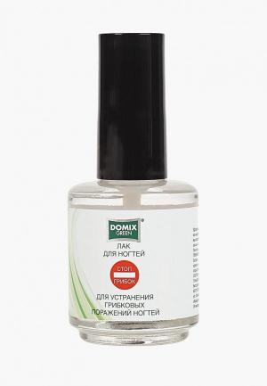 Лак для ногтей Domix. Цвет: прозрачный