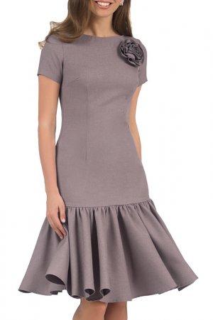Платье Olivegrey. Цвет: серо-лиловый