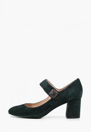Туфли Covani. Цвет: зеленый