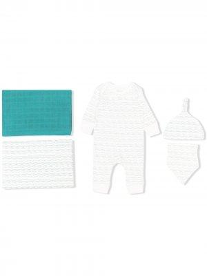 Подарочный комплект для новорожденного Waves of Joy From Babies With Love. Цвет: белый