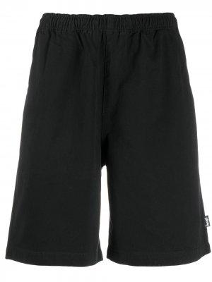 Пляжные шорты Stussy. Цвет: черный