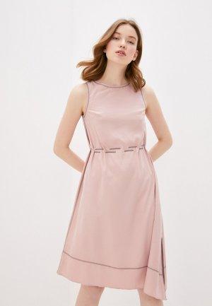 Платье Savage. Цвет: голубой