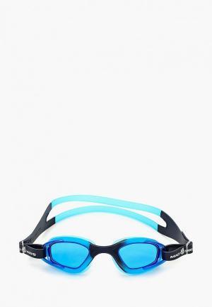 Очки для плавания MadWave. Цвет: синий