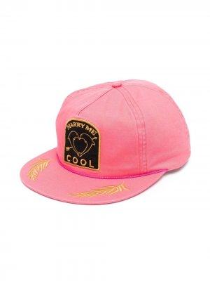 Бейсболка с нашивкой-логотипом COOL T.M. Цвет: розовый