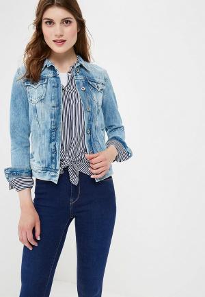 d9d9f875f46d Голубые женские джинсовые куртки купить в интернет-магазине LikeWear ...