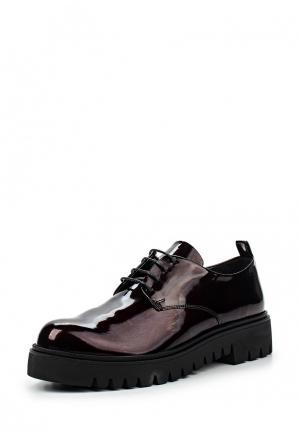 Ботинки Arella. Цвет: бордовый