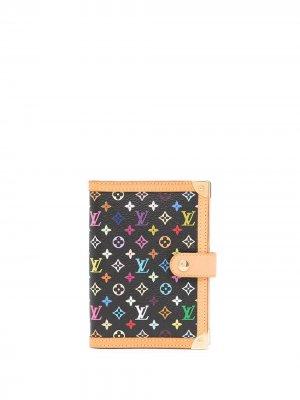 Обложка для блокнота Agenda PM 2003-го года Louis Vuitton. Цвет: черный