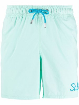 Gustavia swimming shorts Mc2 Saint Barth. Цвет: зеленый