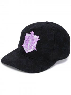 Бейсбольная кепка с вышивкой из коллаборации Koche Emilio Pucci. Цвет: черный
