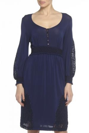 Платье Maria Grazia Severi. Цвет: мультицвет