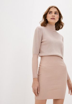 Платье Elsi. Цвет: розовый