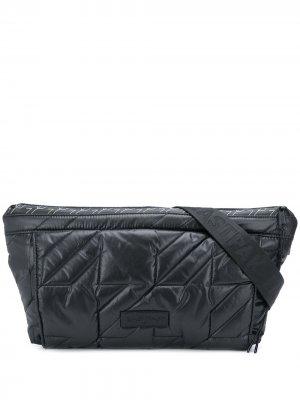 Поясная сумка Puffa Eastpak. Цвет: черный