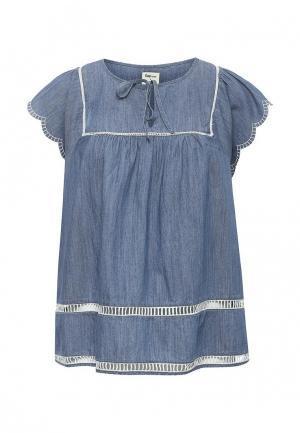 Блуза Gap. Цвет: синий