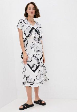 Платье пляжное Karl Lagerfeld Beachwear. Цвет: белый