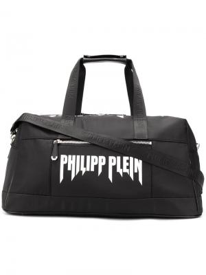 Спортивная сумка Rock PP Philipp Plein. Цвет: черный
