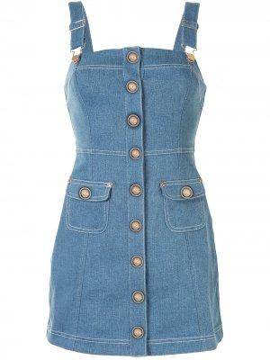 Платье мини Woodstock Alice McCall. Цвет: синий
