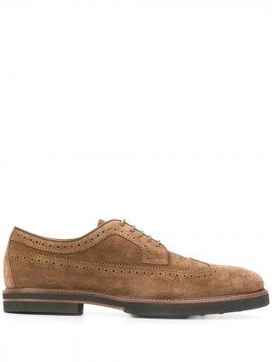 Tods броги на шнуровке Tod's. Цвет: коричневый