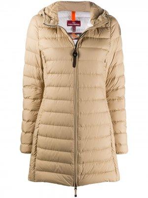 Пальто Irene на молнии Parajumpers. Цвет: нейтральные цвета