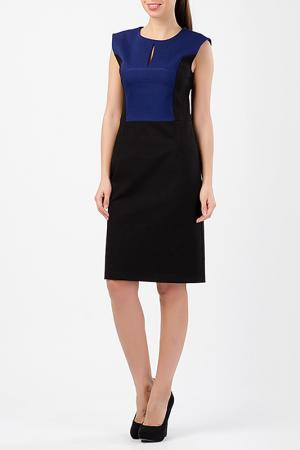 Платье TUZUN. Цвет: синий