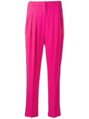 Зауженные брюки 1980-х годов Emanuel Ungaro Pre-Owned. Цвет: розовый