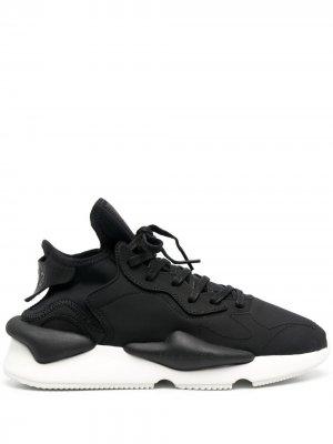 Массивные кроссовки Y-3. Цвет: черный