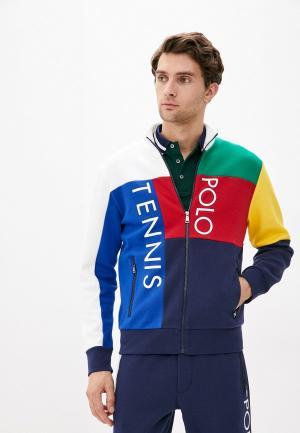 Олимпийка Polo Ralph Lauren. Цвет: разноцветный
