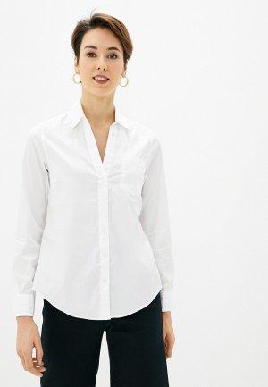 Рубашка Gap. Цвет: белый