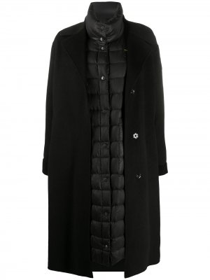 Пальто-пуховик Kelly Blauer. Цвет: черный