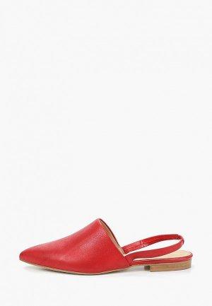 Туфли Dali. Цвет: красный