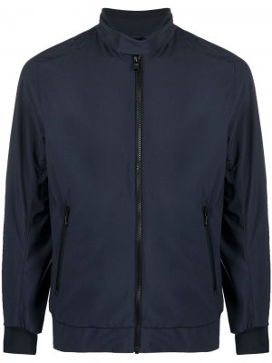 Спортивная куртка с нашивкой-логотипом Colmar. Цвет: синий