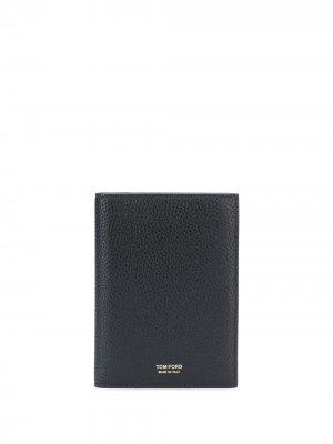 Обложка для паспорта Tom Ford. Цвет: черный