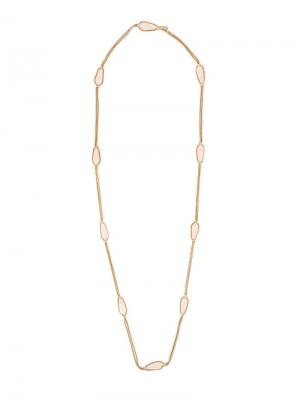 Long stone chain necklace Rosantica. Цвет: металлик