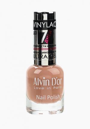 Лак для ногтей Alvin Dor D'or. Цвет: бежевый
