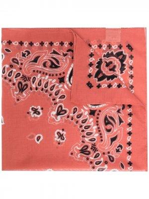 Платок с принтом Destin. Цвет: розовый