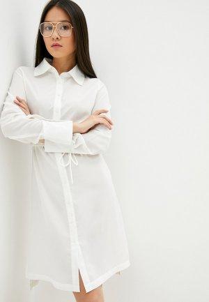 Платье Code. Цвет: белый