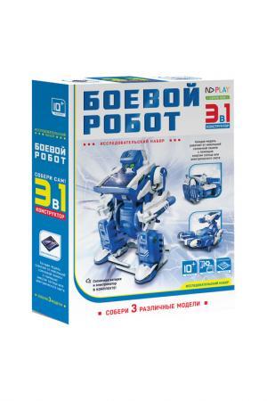 Конструктор Боевой робот 3 в 1 ND PLAY. Цвет: мультицвет
