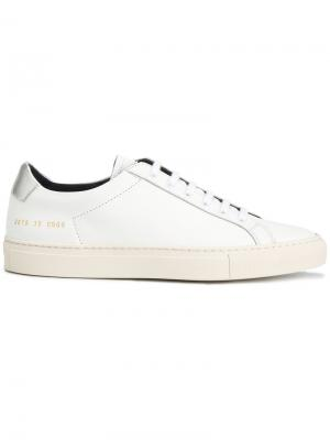 Кеды Retro Achilles Common Projects. Цвет: белый