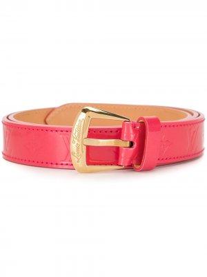 Ремень Phoenix 2008-го года Louis Vuitton. Цвет: розовый