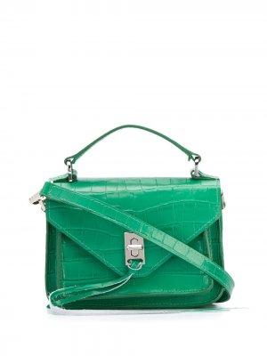 Мини-сумка через плечо Darren Rebecca Minkoff. Цвет: зеленый