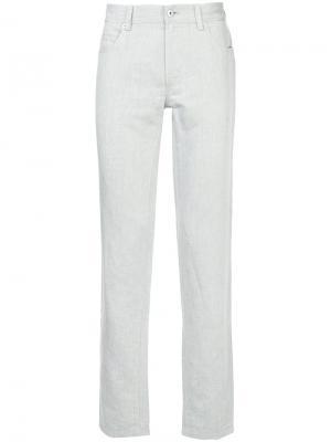 Durban однотонные прямые брюки D'urban. Цвет: серый