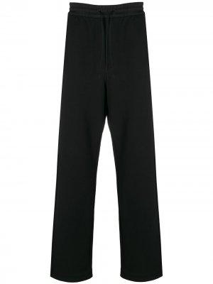 Спортивные брюки прямого кроя Y-3. Цвет: черный