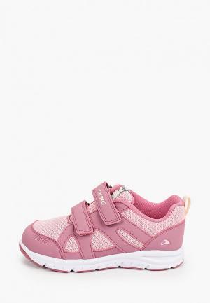 Кроссовки Viking. Цвет: розовый