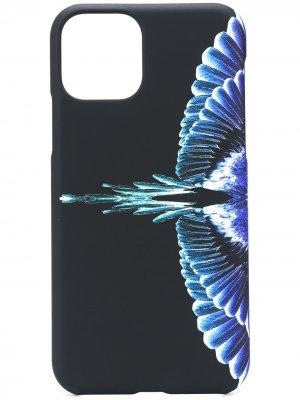Чехол для iPhone 11 Pro с принтом Marcelo Burlon County of Milan. Цвет: черный