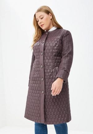 Куртка утепленная Grand Madam. Цвет: фиолетовый