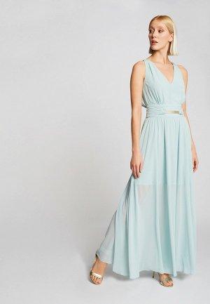 Платье Morgan. Цвет: голубой
