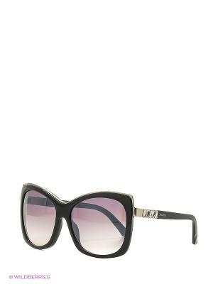 Солнцезащитные очки SK 0090 01С Swarovski. Цвет: черный